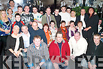 21ST BIRTHDAY: The family and friends of Patrick Brosnan, Fountain Court (seated 5th left) gathered in Horan's members bar on Saturday night to celebrated his 21st birthday.   Copyright Kerry's Eye 2008