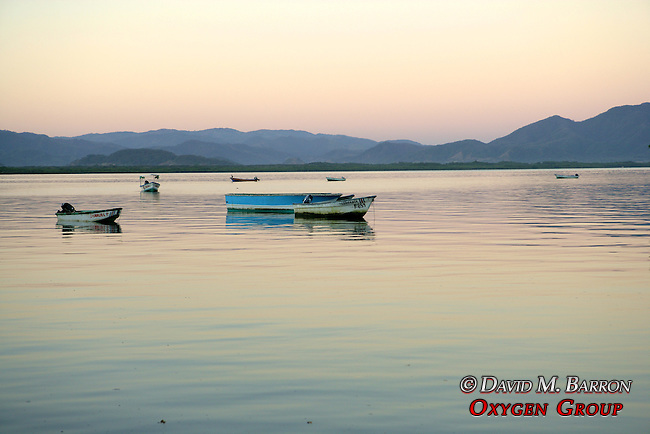 Boats On The Gulf Of Nicoya