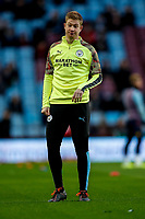 12th January 2020; Villa Park, Birmingham, Midlands, England; English Premier League Football, Aston Villa versus Manchester City; Kevin De Bruyne of Manchester City warms-up prior to the match - Strictly Editorial Use Only. No use with unauthorized audio, video, data, fixture lists, club/league logos or 'live' services. Online in-match use limited to 120 images, no video emulation. No use in betting, games or single club/league/player publications