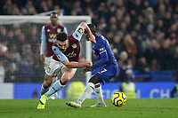 John McGinn of Aston Villa races upfield during Chelsea vs Aston Villa, Premier League Football at Stamford Bridge on 4th December 2019
