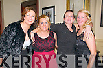 Kerry Crusadrers Social : Pictured at the Kerry Crusaders Social at the Listowel Arms Hotel on Saturday night last were Jenny Keane, Sarah Breen, Marie Deenihan-Carty & mary Walshe.