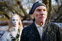 A Christmas Carol (1999)<br /> Patrick Stewart &amp; Joel Grey<br /> *Filmstill - Editorial Use Only*<br /> CAP/KFS<br /> Image supplied by Capital Pictures