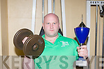 John Fleming Scartaglen who won the Best overall male at the BDFA Home Nations Championship in London last week