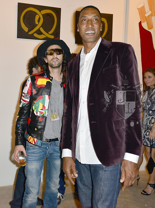 MIAMI, FL - DECEMBER 02: Adrien Brody and Scottie Pippen attends Haute Living And Zacapa Rum Present Domingo Zapata at Lulu Laboratorium on Wednesday December 2, 2015 in Miami, Florida. (Photo by Johnny Louis/jlnphotography.com)