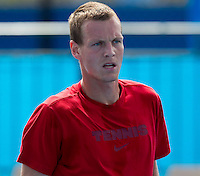 TOMAS BERDYCH practicing at Melbourne Park ..15/01/2012, 15th January 2012, 13.01.2012..The Australian Open, Melbourne Park, Melbourne,Victoria, Australia.@AMN IMAGES, Frey, Advantage Media Network, 30, Cleveland Street, London, W1T 4JD .Tel - +44 208 947 0100..email - mfrey@advantagemedianet.com..www.amnimages.photoshelter.com.