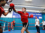 060717 Sheffield Utd at GB Boxing Gym