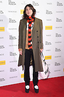 LONDON, UK. November 22, 2016: Bella Freud at The Design Museum VIP launch party in Kensington, London.<br /> Picture: Steve Vas/Featureflash/SilverHub 0208 004 5359/ 07711 972644 Editors@silverhubmedia.com