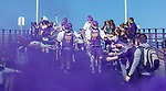 UAlbany Men's Lacrosse defeats Stony Brook on March 31 at Casey Stadium.  Albany pregame.