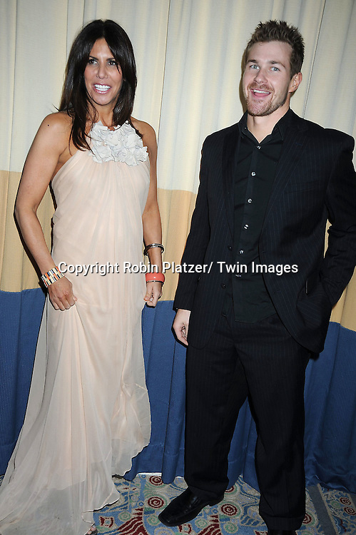 "Cindy Barshop,owner of Completely Bare Spas and The Real Housewives of New York City  and Josh Kelly of ""One Life to Live"" attending the 26th Annual Starlight Children's Foundation Gala on March 16, 2011 at The Marriott Marquis Hotel in New York City."