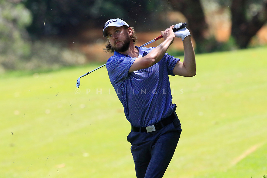 Elrik Tage Johansen (NOR) during the third round of the Barclays Kenya Open played at Muthaiga Golf Club, Nairobi, Kenya 22nd - 25th March 2018 (Picture Credit / Phil Inglis) 22/03/2018<br /> <br /> <br /> All photo usage must carry mandatory copyright credit (&copy; Golffile | Phil Inglis)