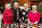 Julanne Murphy, Hannah Allmann, Marian O'Connor and Marie Daly enjoying Womens Christmas in O'Donnells Bar, Mounthawk on Sunday.