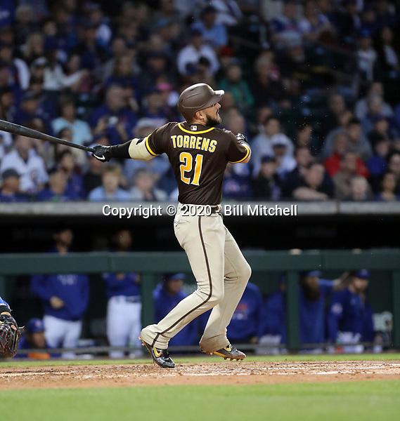 Luis Torrens - San Diego Padres 2020 spring training (Bill Mitchell)