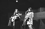 Joan Baez and Mimi Baez Farina, Newport Folk Festival 1966