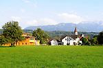 Hochstativ-Vergleichsaufnahme, Ruggell, Liechtenstein