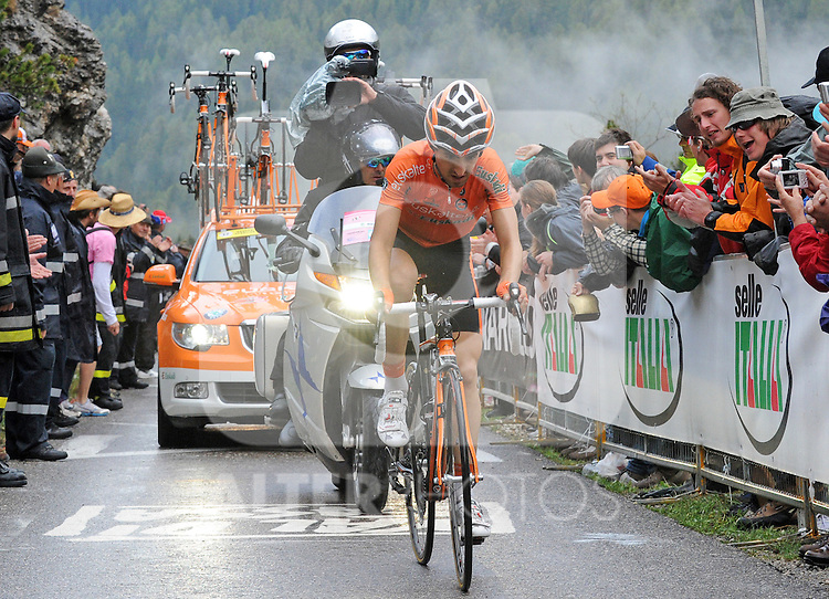 22.05.2011, Gardeccia, Fal di Fassa, Trentino, ITA, Giro d Italia, im Bild der Etappensieger Mikel Nieve, Team Euskatel Euskadi, EXPA Pictures © 2011, PhotoCredit: EXPA/ R.Eisenbauer