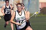 Santa Barbara, CA 02/18/12 - Avi Feldman  (Cal Poly SLO #17) in action during the 2012 Santa Barbara Shootout.  Colorado defeated Cal Poly SLO 8-7.