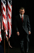 "Chicago, IL - December 11, 2008 -- Former United States Senator Tom Daschle (Democrat of South Dakota) walks to the stage during a news conference announcing him as United States President-elect Barack Obama's nominee for Secretary of Health and Human Services Thursday December 11, 2008, in Chicago, Illinois. In his remarks, Obama said he was ""appalled and disappointed"" by the revelations this week concerning Illinois Governor Rod Blagojevich's alleged attempts to sell Obama's old United States Senate seat..Credit: Frank Polich - Pool via CNP"