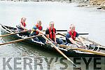 Team Glenbeigh, l-r Tom Blunnie, Sean Honan, John Keane and Eoin Honan at the Maharees Regatta on Sunday