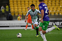 Tomoki Imai of Western United FC during the A League - Wellington Phoenix v Western United FC at Sky Stadium, Wellington, New Zealand on Friday 21 February 2020. <br /> Photo by Masanori Udagawa. <br /> www.photowellington.photoshelter.com