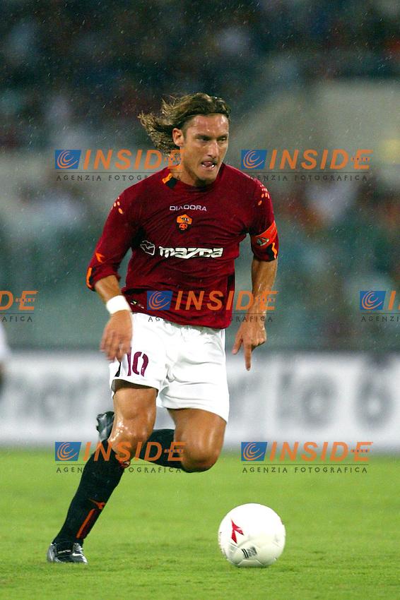 Roma 25/8/2003<br /> Roma  Betis  Siviglia 2-2<br /> Francesco Totti  (AS Roma)<br /> Foto Staccioli / Insidefoto