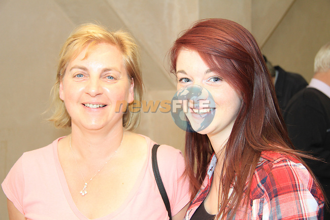 Aileen and Michelle Phelan at the HQ..Picture: Shane Maguire / www.newsfile.ie.