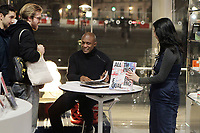 BROOKLYN, NEW YORK- JANUARY 10: Visual Artist Hank Willis Thomas signs copies of his new book ' All Things Being Equal' after his talk at the Brooklyn Museum on January 10, 2019 in Brooklyn, New York City.    <br /> CAP/MPI43<br /> &copy;MPI43/Capital Pictures