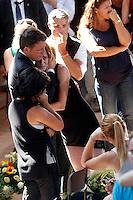 Ascoli Piceno 27-08-2016 Terremoto nel centro Italia, al confine tra Umbria Marche e Lazio. Funerali delle vittime del versante marchigiano<br /> Ascoli Piceno August 27th 2016. Central Italy was struck by a earthquake of 6.2 magnitude during the early hours if August 24 2016. Funerlas of the victims of Marche Region<br /> Foto Samantha Zucchi/Insidefoto