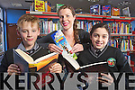 Danie Murphy Abbeydorney, Aishlinn O'Halloran, Kerry County Library and Victoria Keane, Derrymore getting ready for the Childrens book festival which runs from the 2nd of October to the 4th of November with events all over Kerry.