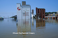 63816-00816 Downtown Alton, Flood of '93    IL