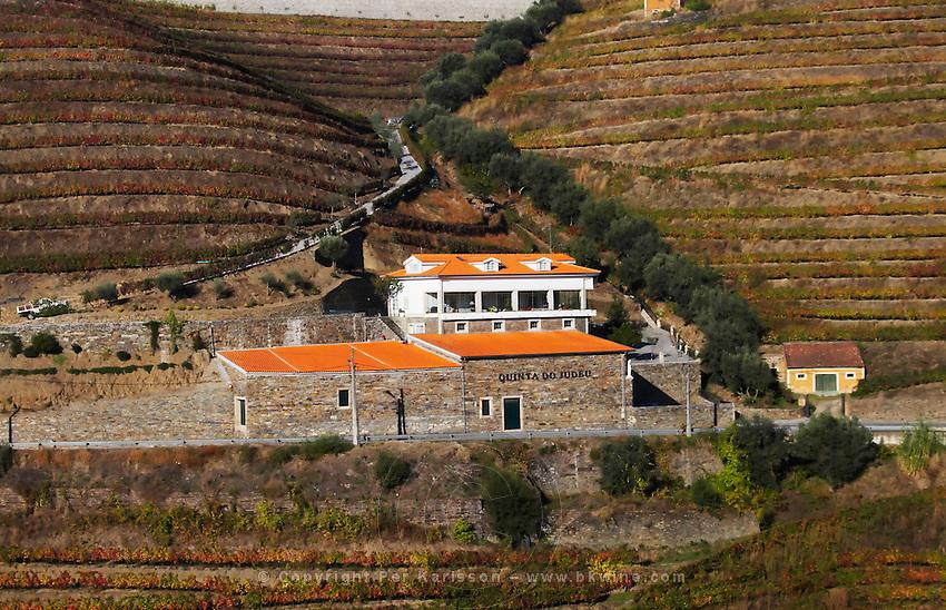 vineyards quinta do judeu douro portugal