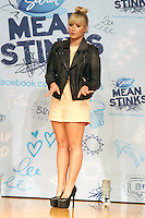 NEW YORK, NY - SEPTEMBER 20: Demi Lovato, as the 'Mean Stinks' Ambassador for Secret Deodorant, surprises students of The Young Women's Leadership School during their anti-bullying assembly. New York City. September 20, 2012. © RW/MediaPunch Inc. /NortePhoto<br /> <br /> **Solo*venta*en*Mexico*<br /> <br /> **CREDITO*OBLIGATORIO** *No*Venta*A*Terceros*<br /> *No*Sale*So*third*...