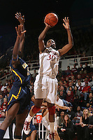 STANFORD, CA - JANUARY 2:  Nnemkadi Ogwumike of the Stanford Cardinal during Stanford's 79-58 win over the California Golden Bears on January 2, 2010 at Maples Pavilion in Stanford, California.