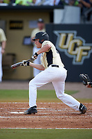 UCF Knights shortstop Brennan Bozeman (21) during a game against the Siena Saints on February 21, 2016 at Jay Bergman Field in Orlando, Florida.  UCF defeated Siena 11-2.  (Mike Janes/Four Seam Images)