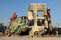 The Neon Museum, Las Vegas, July 17, 2013