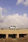 Israel, Southern Hebron Mountain, Debambam bridge on road 60