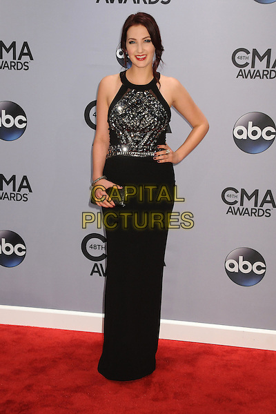 05 November 2013 - Nashville, Tennessee - Katie Armiger. 47th CMA Awards, Country Music's Biggest Night, held at Bridgestone Arena. <br /> CAP/ADM/BP<br /> &copy;BP/ADM/Capital Pictures