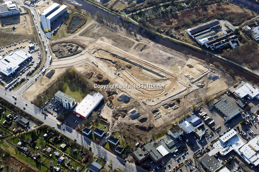 Schilfpark: EUROPA, DEUTSCHLAND, HAMBURG, (EUROPE, GERMANY), 22.03.2017: Bergedorf,Schilfpark