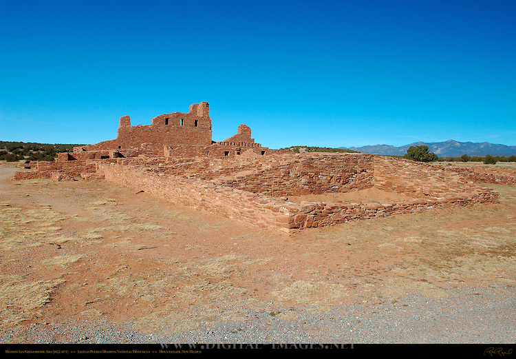 Mission San Gregorio de Abo, Salinas Pueblo Missions National Monument, Mountainair, New Mexico