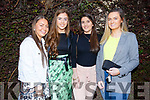Cara Quinlan (Kilflynn), Aisling Thornton (Ballyheigue), Marie Daly (Kerries) and Susie De Rís (Abbeydorney) celebrating an evening out in Cassidys on Thursday.