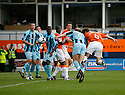 George Pilkington of Luton (no. 6) scores the second goal during the Blue Square Bet Premier match between Luton Town and Cambridge United at Kenilworth Road, Luton  on 11th September 2010.© Kevin Coleman 2010