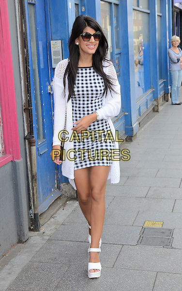 BRENTWOOD, ESSEX, UK, JUN 28: Jasmin Walia at the opening of Charlie's Deli, on June 28th 2014 in Brentwood, UK<br /> CAP/PP/MB<br /> &copy;Michael Ball/PP/Capital Pictures