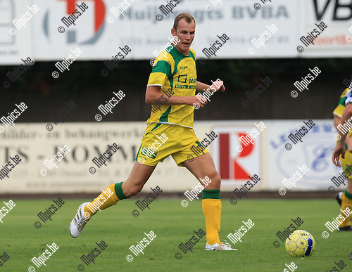2010-06-22 / Voetbal / seizoen 2010-2011 / Witgoor Dessel / Jonas Nijs..Foto: mpics