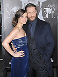 Tom Hardy and fiance at Twentieth Century Fox L.A Premiere of This Means War held at The Grauman's Chinese Theatre in Hollywood, California on February 08,2012                                                                               © 2012 Hollywood Press Agency