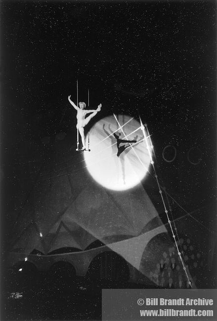 Circus performer, 1940s