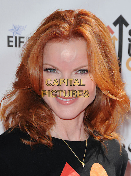 MARCIA CROSS .at Stand Up to Cancer held at Sony Picture Studios in Culver City, California, USA, September 10th 2010.     .portrait headshot black necklace smiling                                                                 .CAP/RKE/DVS.©DVS/RockinExposures/Capital Pictures.