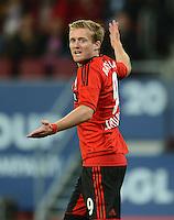 FUSSBALL   1. BUNDESLIGA  SAISON 2012/2013   5. Spieltag FC Augsburg - Bayer 04 Leverkusen           26.09.2012 Andre Schuerrle (Bayer 04 Leverkusen)