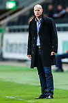 Solna 2013-09-30 Fotboll Allsvenskan AIK - &Ouml;sters IF :  <br /> &Ouml;ster tr&auml;nare Andreas Thomsson <br /> (Foto: Kenta J&ouml;nsson) Nyckelord:  portr&auml;tt portrait