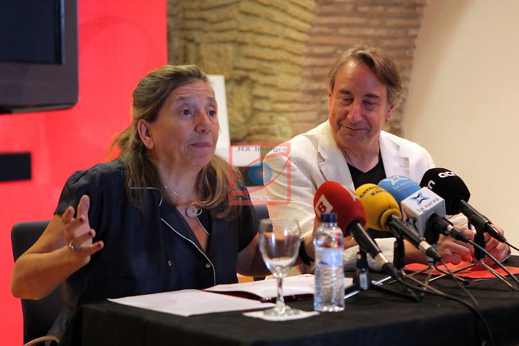 Academia del Cinema Catala.<br /> Presentaci&oacute; El Cicle Gaudi.<br /> Isona Passola &amp; Juanjo Puigcorbe.