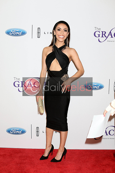 Grace Parra<br /> at the 42nd Annual Gracie Awards, Beverly Wilshire Hotel, Beverly Hills, CA 05-22-18<br /> David Edwards/DailyCeleb.com 818-249-4998