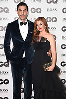 Sasha Baron Cohen and Isla Fisher<br /> at the GQ Men of the Year Awards 2018 at the Tate Modern, London<br /> <br /> ©Ash Knotek  D3427  05/09/2018